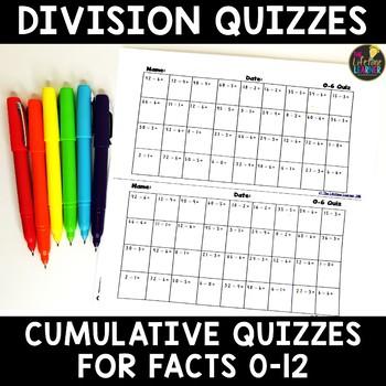 Division Quizzes