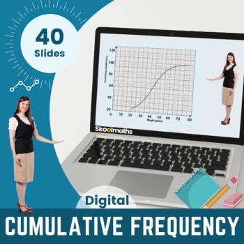 Cumulative Frequency - 9th-10th grades, GCSE (1-9)