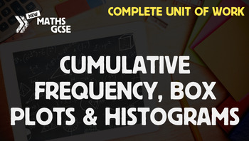 Cumulative Frequency, Box Plots & Histograms - Complete Lesson