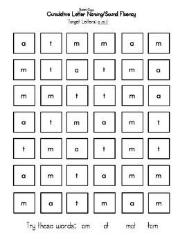 Letter Sound Fluency