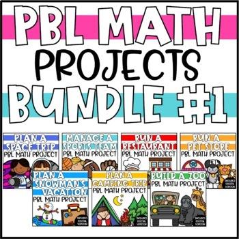Cumulative Math PBL Enrichment Projects - The BUNDLE!