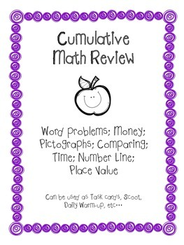 Cumulative Math Review