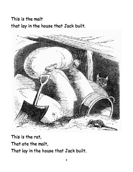 Fluency:  This is the House that Jack Built (Big Book)