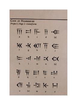 Cuneiform Activity