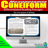 Cuneiform Differentiated Reading Passages