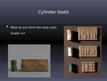 Cuneiform PowerPoint Slideshow + Guided Cornell Notes