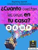 Cuánto cuestan las cosas en tu casa - Spanish House Unit Game