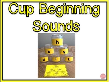 Cup Beginning Sounds