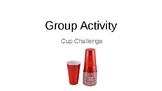 Cup Challenge: Steam Activity Powerpoint