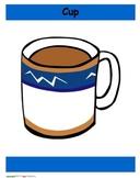 Cup-Cube game - short and long /u/ vowel discrimination word sort