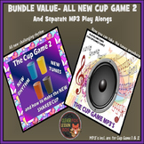 Music Lesson -The Cup Game 2 PowerPoint with MP3 Bundle