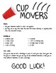 Cup Movers Team Building Engineering Challenge