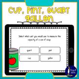 Cup, Pint, Quart, Gallon BOOM Cards