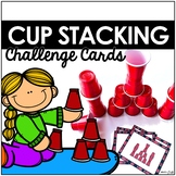 Cup Stacking Challenge Cards