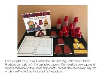 Cup Stacking Contraction Station