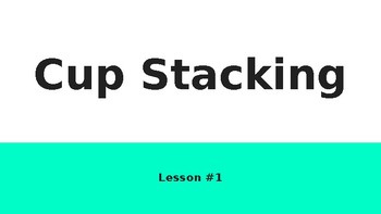 Cup Stacking Lesson for Elementary Students in PE