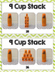 Cup Stacking Task Card Set