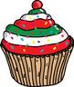 Cup cake clip art