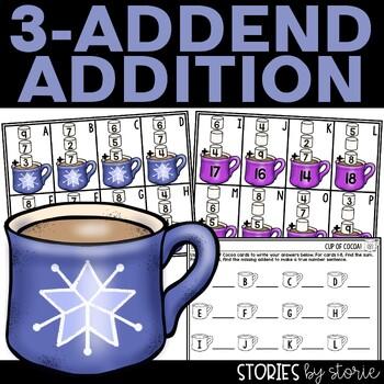 3 Addend Addition Freebie