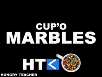 Cup'O Marbles