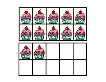 Cupcake 10 Frames