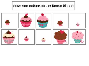 Cupcake Activities for Preschool and Kindergarten
