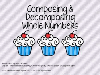 Cupcake Addition and Decomposition