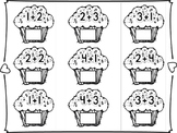 Cupcake Addition Activity Mat