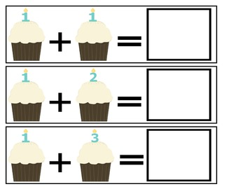 Cupcake Addition (Numbers 1-5)