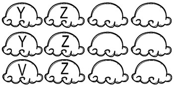 Ice Cream Matching- Alphabet