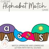Cupcake Alphabet Match Game