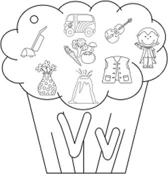 Cupcake Alphabet Ring Book