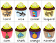 Cupcake Articulation: /r/ and /r/ Blends Card Game