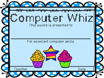 Cupcake Awards