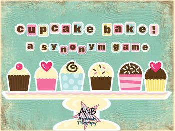 Cupcake Bake: A Synonym Game