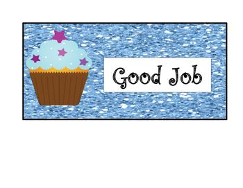 Cupcake Behavior Chart
