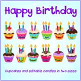 Birthday Display - Cupcake Birthday Display