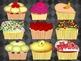 Cupcake Border and Name Plates