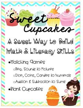 Cupcake Building - Sweet Math & Literacy Activities