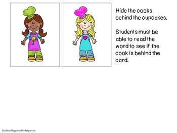 Cupcake CVC Read & Find