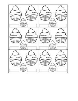 Cupcake Calendar Marker
