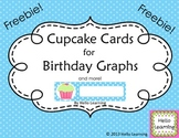Cupcake Cards for Birthday Graphs (and more!) FREEBIE
