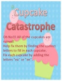 Cupcake Catastrophe - Words with EE and EA Vowel Teams