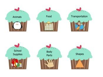 Cupcake Categories!