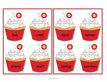 Cupcake Categories - Which one doesn't belong? Why?