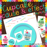 Cause & Effect Cupcakes {and bonus cupcake matching game!}