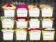 Cupcake Classroom Management Set
