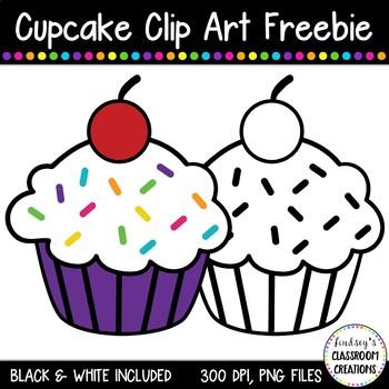 Cupcake Clip Art Freebie