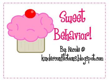 Cupcake Clip Chart