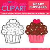 Cupcake Clipart Single | Digital Use Ok!